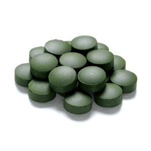 グリーンクロレラ粒画像