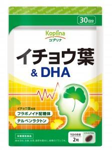 イチョウ葉&DHA 30日分パッケージ画像