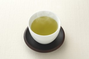 有機抹茶入り玄米茶粒画像